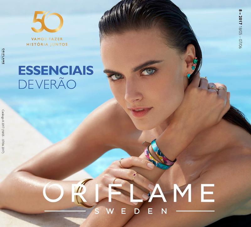 Catálogo 08 de 2017 da Oriflame
