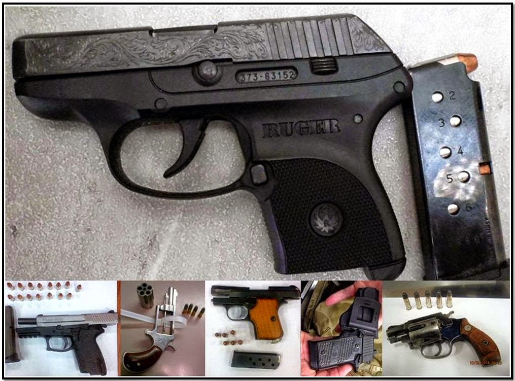 Guns discovered at: DEN, ATL, BNA, ATL, PHL & DAL