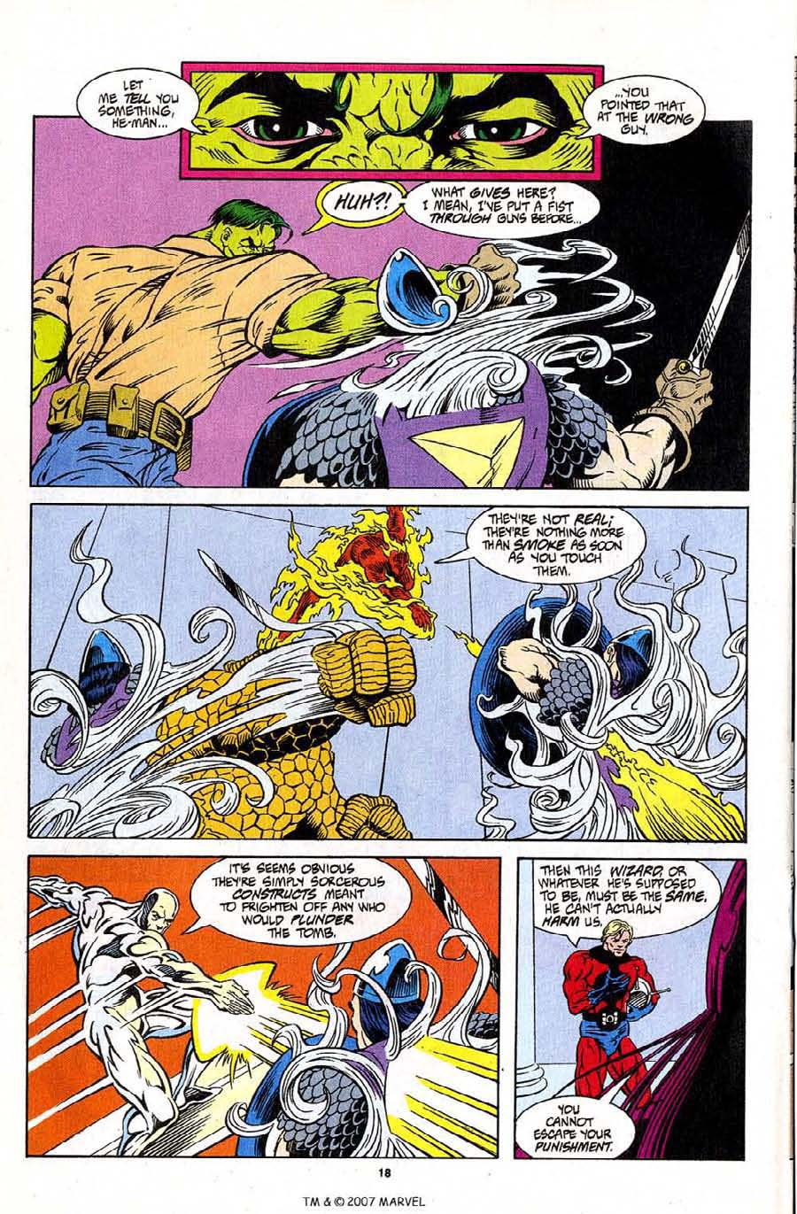 Read online Silver Surfer (1987) comic -  Issue #96 - 20