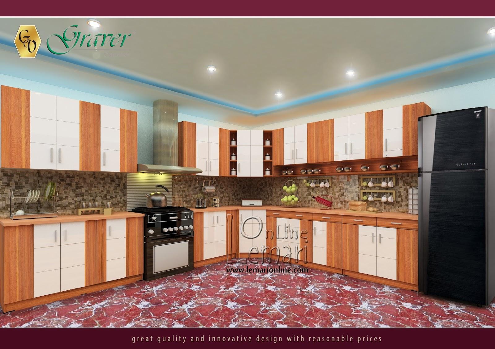 Best design best prices adalah kata yang cocok untuk product natural Kithcen Set Bougenville