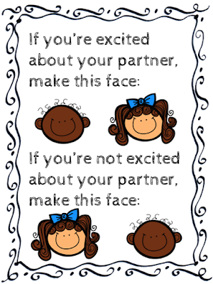 How to react to your assigned partner appropriately!