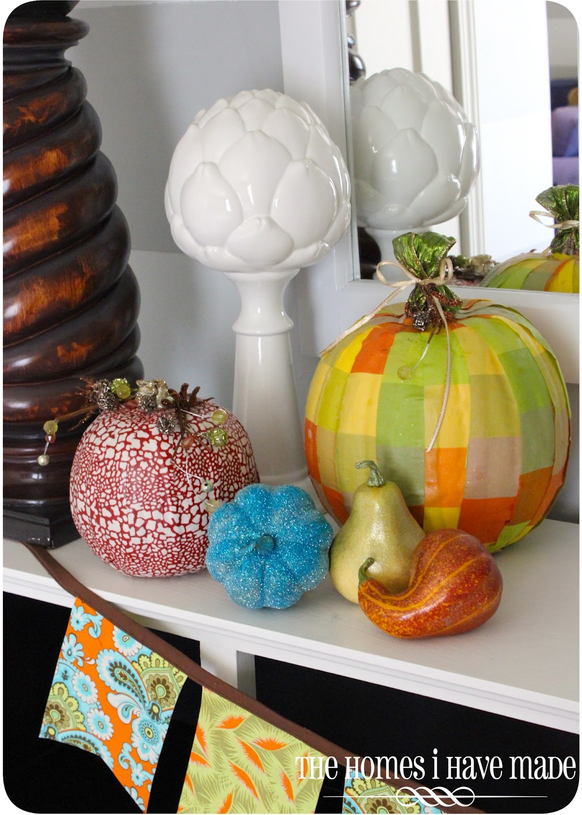 Fresh Fall Home Decorating Ideas Home Tour: A (Fresh) Fall Mantel {Entryway Update}