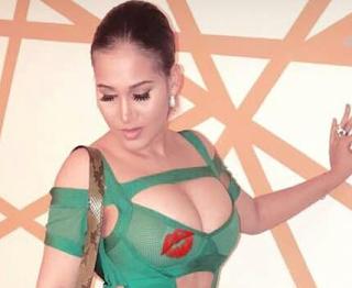 Caroline Danjuma steps out in sexy revealing dress (photos)