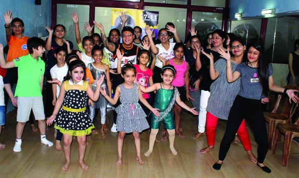 कैनाज डांस ऑफ सोल द्वारा आयोजित नृत्यशाला का समापन