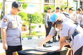Kompol Setia Wijatono Resmi Dilantik Menjadi Wakapolres Mataram
