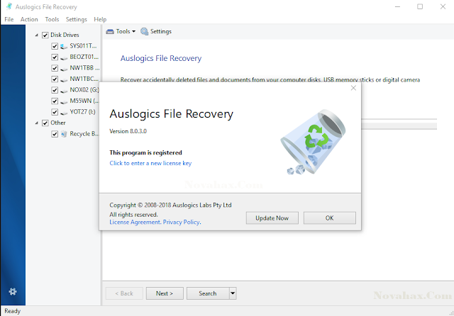 Auslogics File Recovery Keygen Free Download