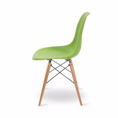 Các mẫu ghế Eames nhựa đúc được ưa chuộng cho quán cafe 1