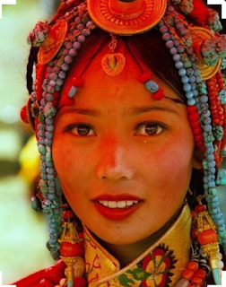 beautiful Tibetan girl