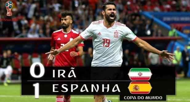 Assista e Ouça os Jogos da Copa do Mundo Russia: IRÃ X ESPANHA
