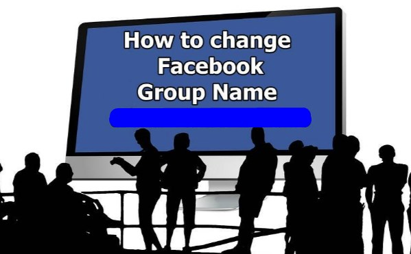 How to change group name on facebook