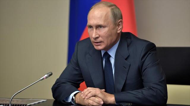 Putin ordena la destrucción de últimas armas químicas de Rusia