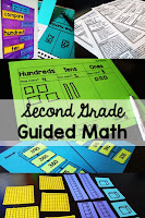 Second Grade Guided Math lesson plans, centers, assessments, and more. Everything you need to run small group math in your 2nd grade classroom!