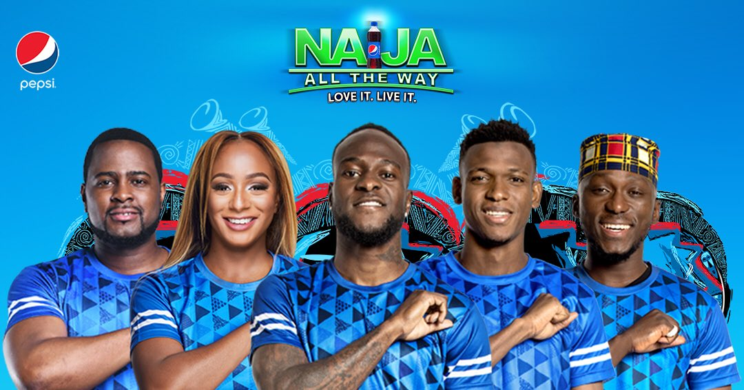 Pepsi Naija All The Way Campaign - Celebrity DJ's and Players