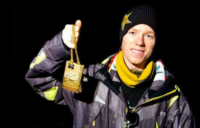 Norwegian Snowboarder Broke His Collarbone in Sochi