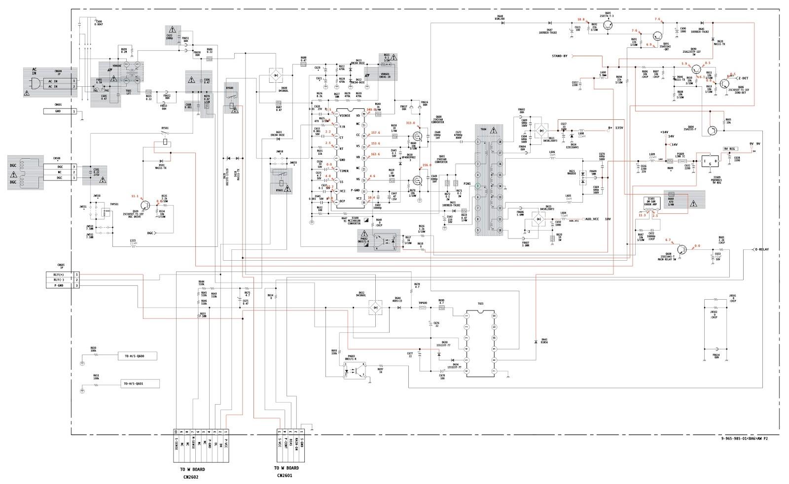 Electro help: SONY KV 21FA310  KV29FV210  HORIZONTAL