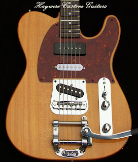 Image Haywire Custom Guitar Nashville Tremolo guitar for Blog