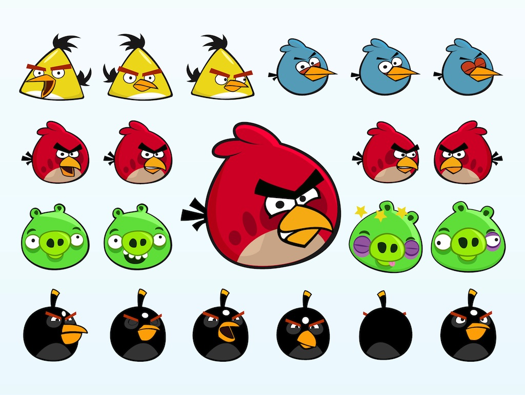 Free Printable Angry Birds Stickers Toppers Or Labels
