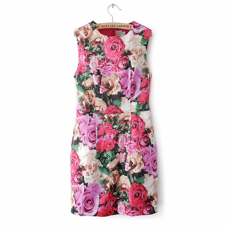 http://www.koees.com/koees-7114-Rose-printing-round-neck-sleeveless-zipper-back-dress-0144.html