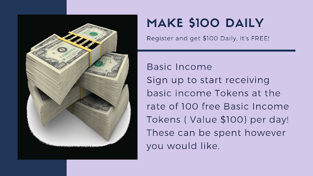 Opportunity to earn $100 daily