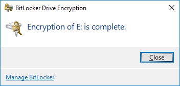 Đặt mật khẩu ổ cứng bằng BitLocker - H09