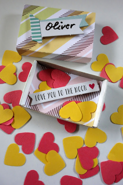 confetti hearts, Valentine's Day crafts, love letters, secret messages,