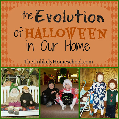 The Evolution of Halloween in Our Home: How one family shares the Gospel on Halloween.-The Unlikely Homeschool