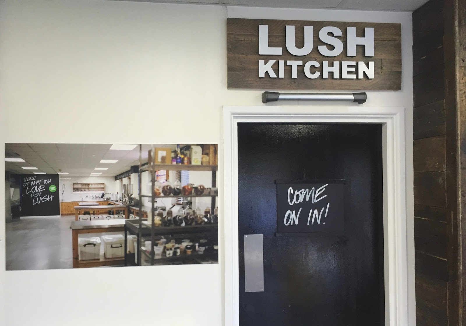 All Things Lush UK: My Lush Kitchen Experience Part 1
