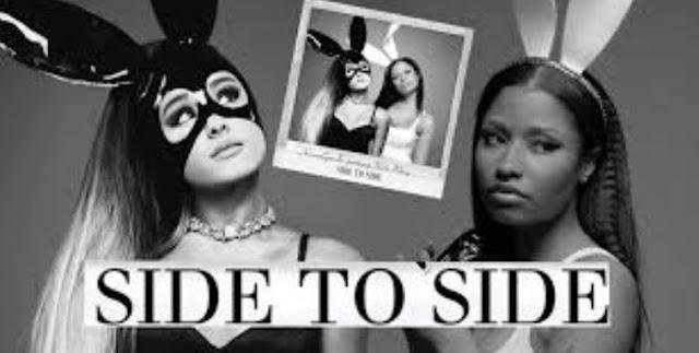 Lirik Lagu Side to Side Ariana Grande, ft. Nicki Minaj Asli dan Lengkap Free Lyrics Song