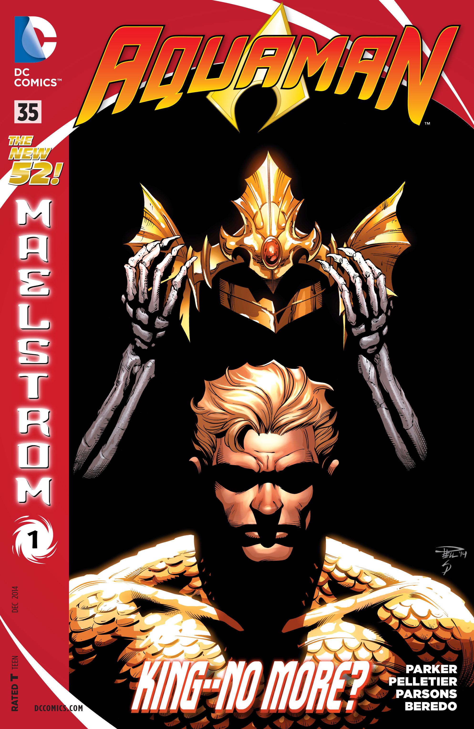 Read online Aquaman (2011) comic -  Issue #35 - 1