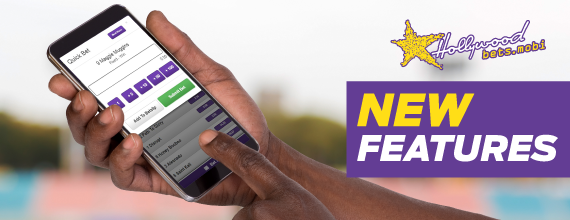 New Hollywoodbets Mobile Features - Mobisite