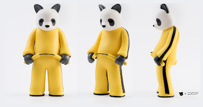 Bruised Lee Panda Edition Vinyl Figure by Luke Chueh x VTSS