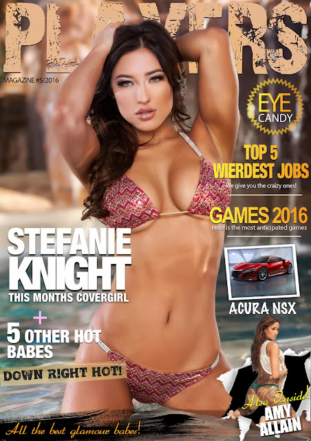 Stefanie Knight - Players Magazine Denmark, May 2016