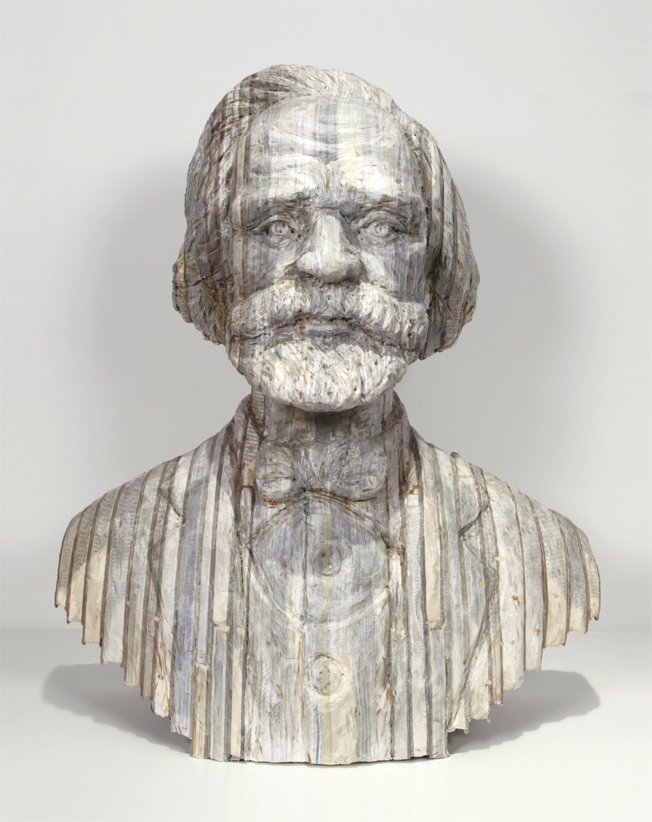17-Verdi-Long-Bin-Chen-A-Second-Life-for-Recycled-Book-Sculpting-www-designstack-co