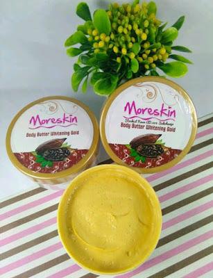 Cara Pakai Moreskin Body Butter Whitening