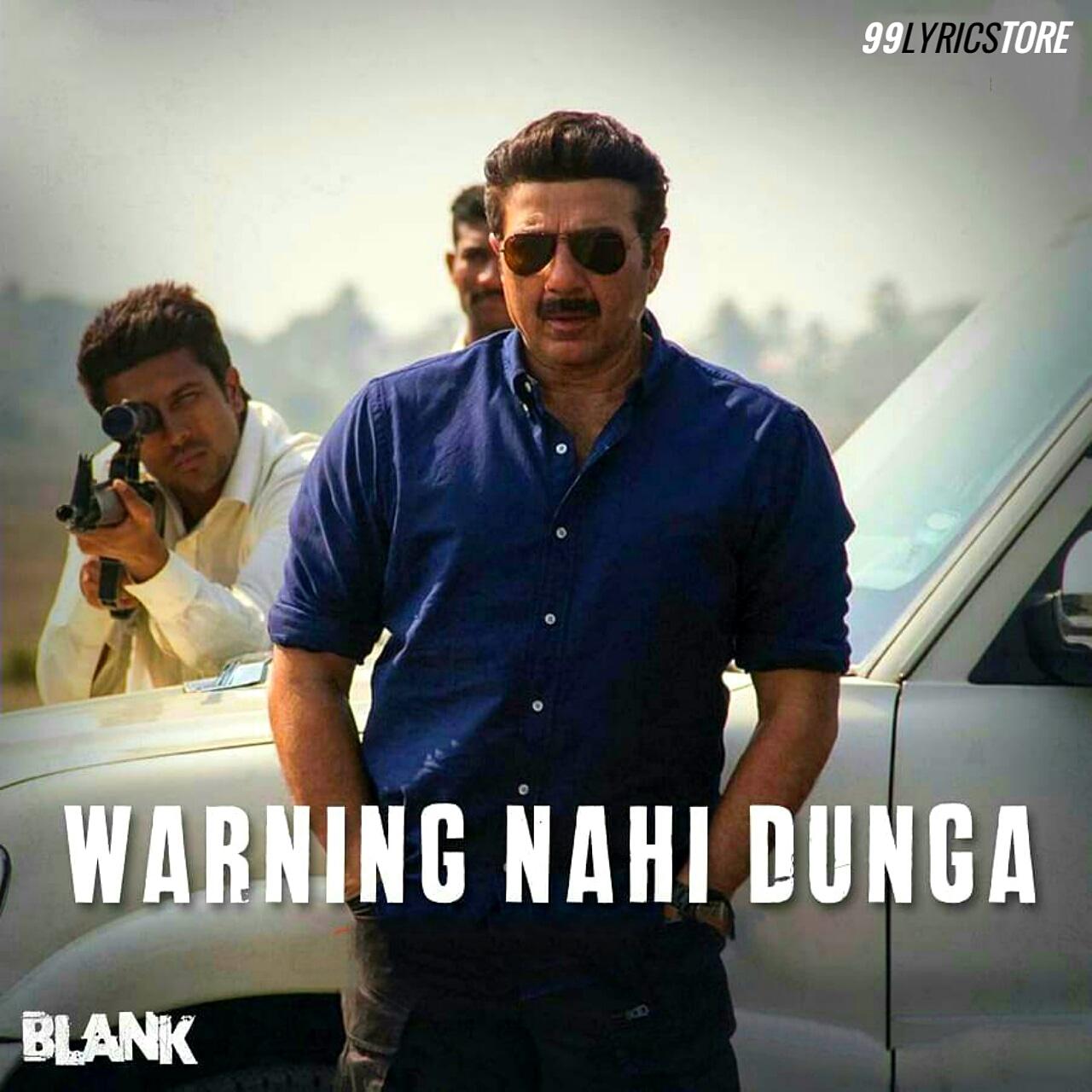 Warning Nahi Dunga Hip Hop Song Lyrics From Movie Blank
