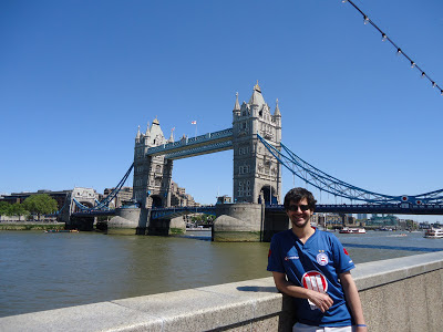Tower Bridge em Londres, Inglaterra