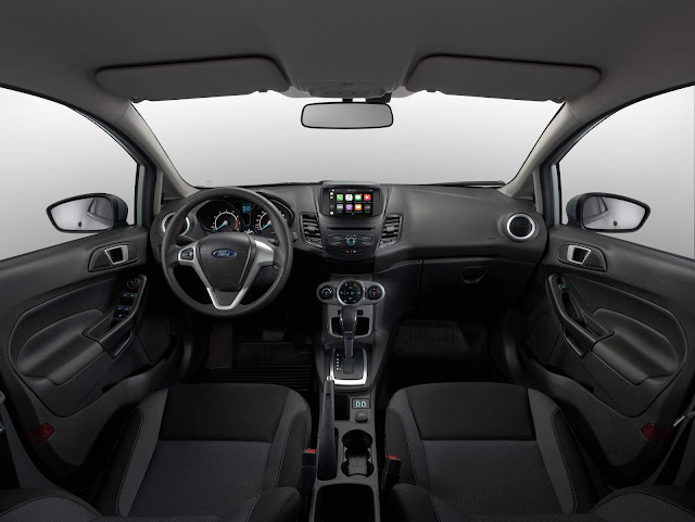 Ford New Fiesta 2018 - interior
