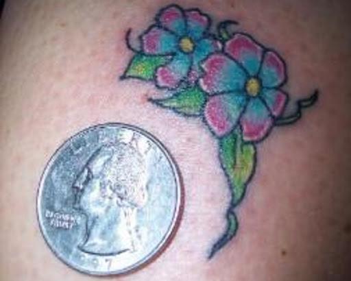 Micro Flor O Projeto Da Tatuagem
