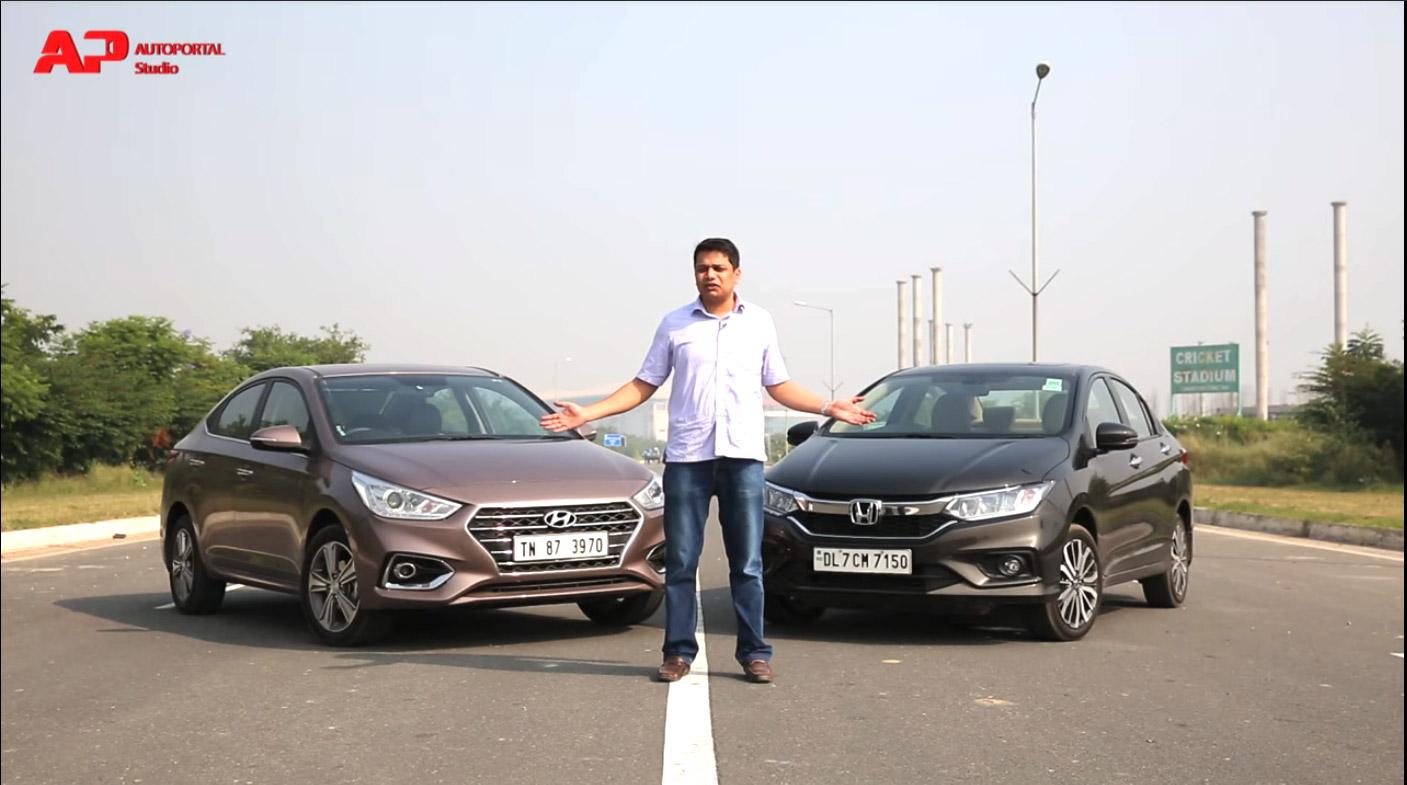 Car Wallpapers Reviews News Tips More Honda City Vs Hyundai