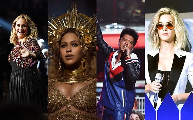 Presentaciones de los Grammy's 2017