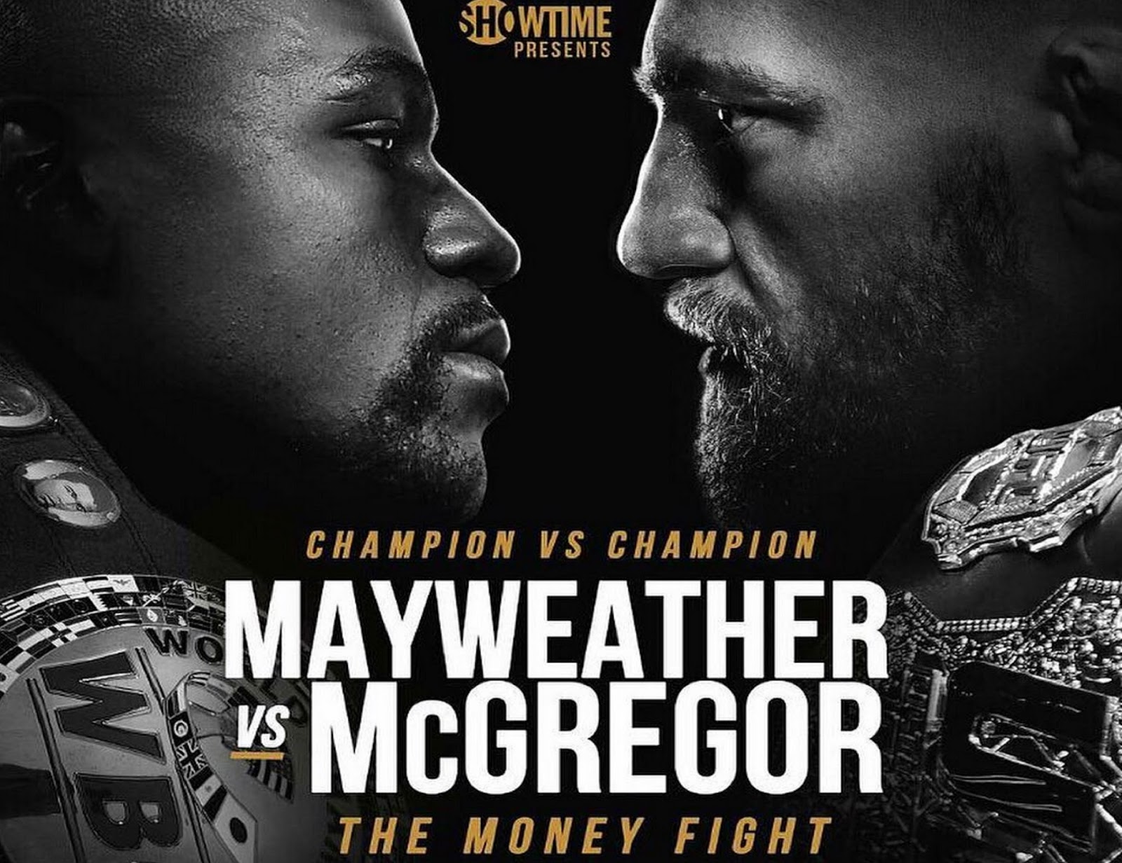 FLOYD MAYWEATHER VS. CONOR MCGREGOR 9