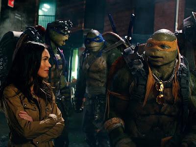 Taquilla USA: Las tortugas toman el relevo a los mutantes en un estreno algo discreto