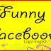 Facebook Login English Language