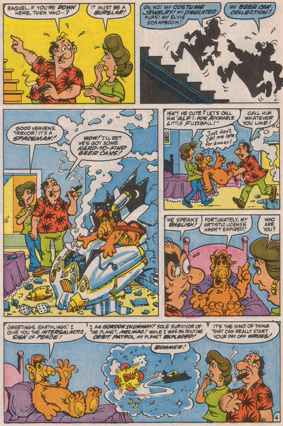 Read online ALF comic -  Issue #8 - 6