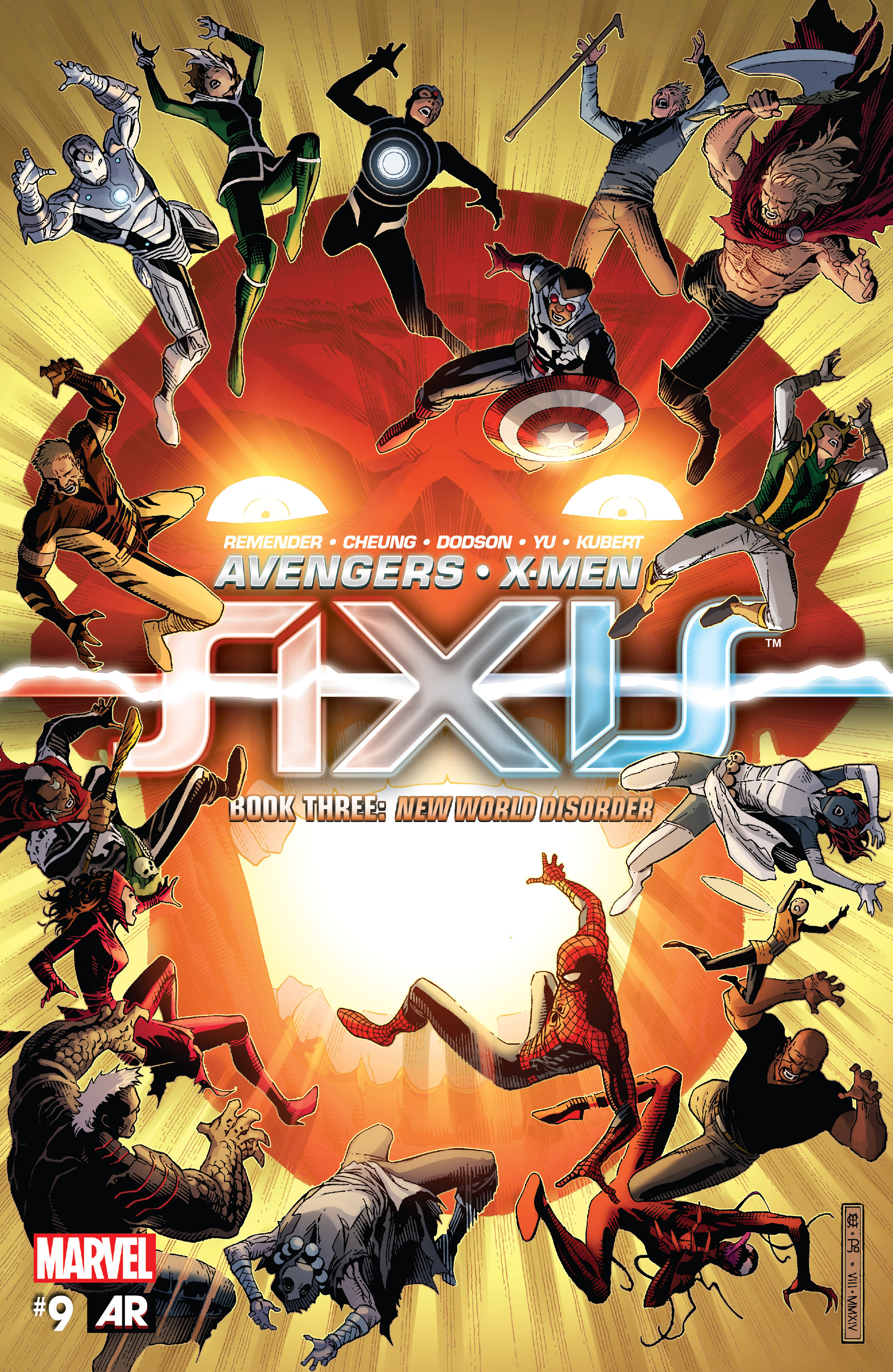 Read online Avengers & X-Men: AXIS comic -  Issue #9 - 1