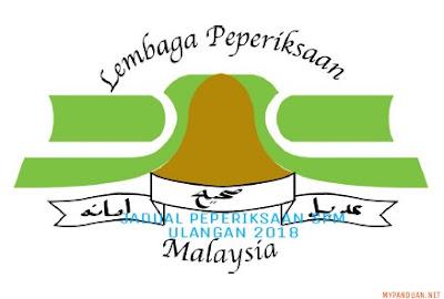 Jadual Waktu Peperiksaan SPMU 2018 Sijil Pelajaran Malaysia Ulangan