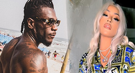Welcome To Ladun Liadi's Blog: Video: Burna Boy Posts Val Gifts He