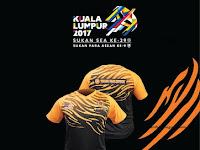 KL2017 : Pakai Jersi Team Malaysia Anda Setiap Rabu!