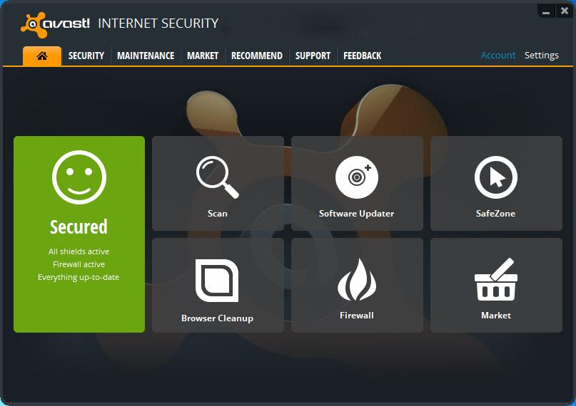 Avast Antivirus Pro Premier Internet Security 801482 Final