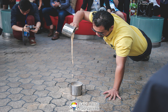@broframestone - Who did the huge stunt to amaze the crowd during Teh Tarik Challenge